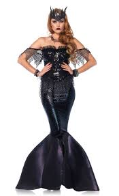 latex halloween mask kits black mermaid women u0027s costume mermaid halloween costume