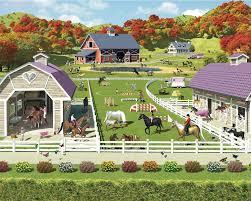 horse and pony stables bedroom mural 10ft x 8ft walltastic horse stables bedroom wall poster