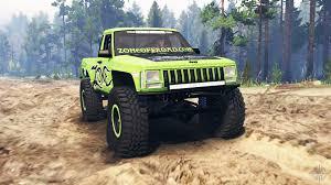 jeep comanche pickup truck pre jeep comanche mj for spin tires