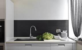 limestone backsplash kitchen dark modern kitchen gray countertop limestone backsplash with