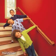 Fitting Banisters Install A New Stair Handrail Family Handyman