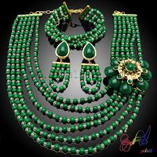 bridal necklace earring images 2015 crystal beads women bridal necklace earring bracelet sets jpg