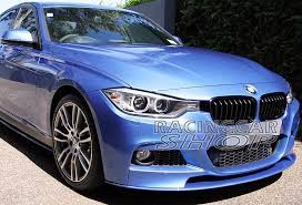 bmw f30 front spoiler painted p style front lip spoiler for bmw f30 3 series m tech