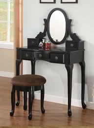 Black Vanity Table With Mirror 20 Make Up And Vanity Tables For Your Bedroom Home Design Lover
