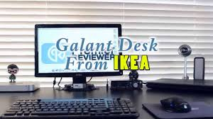 Ikea Galant Standing Desk by Galant Desk From Ikea Build Youtube
