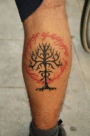 lord of the rings tattoos ring tattoos and