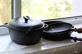 cuisine de qualité cast casseroles de fer de perfectionner les ustensiles de cuisine