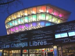 Photo de la bibliothèque Les Champs Libres à Rennes