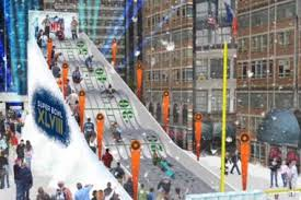 times square to become bowl boulevard this winter times