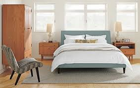 mid century modern beds and headboards mid century modern beds