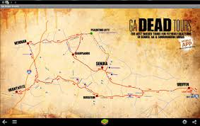 Georgia Map Usa by Ga Dead Tours Free Android Apps On Google Play
