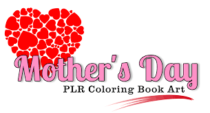 mothers day books s day coloring book coloring book plr artwork publish
