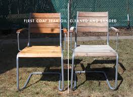 adorable weathered teak outdoor furniture cleaning sealing outdoor