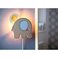 lampe kinderzimmer haba schlummerlicht elefant egon 301131 haba kinderzimmer