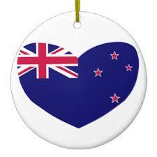island new zealand ornaments keepsake ornaments zazzle
