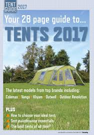 camping magazine tent guide 2017 by warners group publications issuu