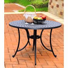 42 Inch Round Patio Table by Crosley Furniture Sedona 42