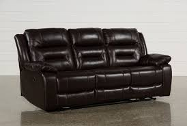 Sofa Cover For Reclining Sofa Wayne Ii Leather Power Reclining Sofa W Usb Living Spaces