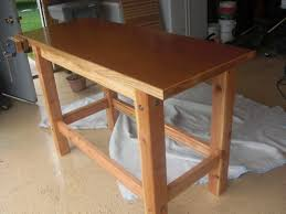 Free Woodworking Plans Easy by 17 Free Workbench Plans And Diy Designs