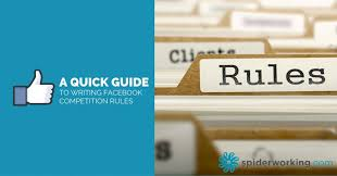 a quick guide to writing facebook competition rules