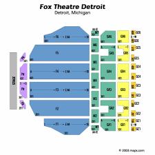 fox theater floor plan fox theater detroit seating chart fox theater detroit tickets fox