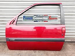citroen saxo furio vtr vts passenger door red paint code ekqd ebay