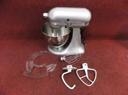 Artisan Kitchenaid Mixer by Kitchenaid Ksm150psmc Artisan Series 5 Quart Stand Mixer Silver