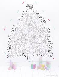 printable christmas coloring pages printables
