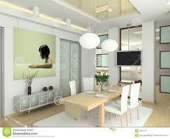 modern interior in big house royalty free stock photography