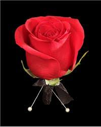 Red Rose Boutonniere Start Planning For Prom Now 4 Flower Corsage And Boutonniere Ideas