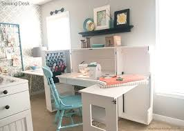 desk small craft table with storage desks small space craft desk