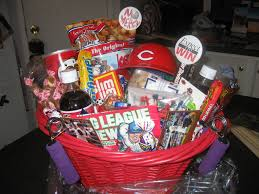 cincinnati gift baskets cincinnati reds junk food basket my gift baskets