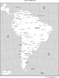North And South America Map Blank by Maps Of The Americas
