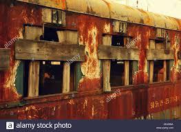 rusty train an abandoned rusty train stock photo royalty free image 43425686