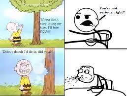 Charlie Brown Memes - charlie brown gets his revenge by kessielou on deviantart