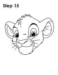 draw simba