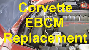 1999 corvette problems c6 corvette brake module ebcm replacement