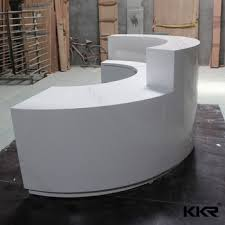 Reception Desk Curved Reception Desk Curved Bar Counter Office Coffee Bar Furniture