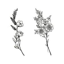 Flower Drawings Black And White - best 25 violet flower tattoos ideas on pinterest violet tattoo