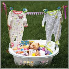 baby shower baskets baby shower gift basket ideas for a lovely looking basket