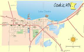 Map Mn City Of Lake Osakis Maps