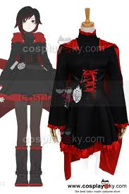 rwby red trailer ruby cosplay costume rwby cosplay costume
