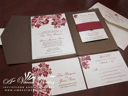 expensive wedding invitations and brown wedding invitation a vibrant wedding