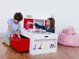 Children S Table With Storage by Kids Activity Table Storage Home Design Ideas