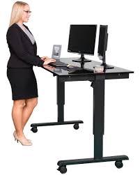 Stand Up Computer Desk Adjustable Stand Up Computer Desk Electric Adjustable Standing Desk Stand