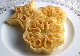 traditional fried rosettes pastry recipe