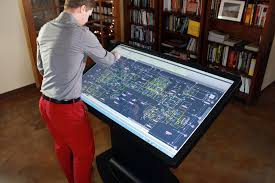 Touch Screen Coffee Table by Coffee Tables Ideas Beautiful Multitouch Coffee Table Diy Android