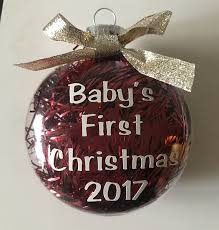personalized baby s ornament aimee j keepsakes