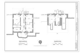 Camp Plans by File Basement And First Floor Plans Bird Brady House Camp Hill