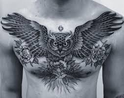 the 25 best owl tattoo chest ideas on pinterest tattoos arm to